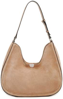 Sorial Suede Classic Hobo Bag