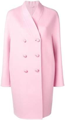 Ermanno Scervino double breasted midi coat