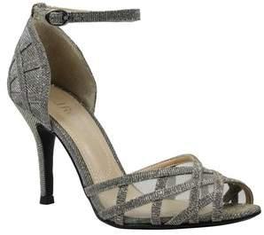 J. Renee Mataro Embellished Ankle Strap Pump