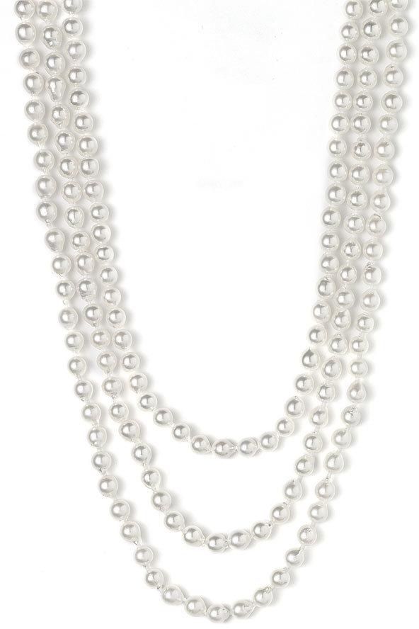 Mastoloni Akoya 7mm Pearl Extra Long Strand Necklace