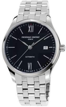 Frederique Constant Gents Classics Index Automatic Stainless Watch $1,250 thestylecure.com