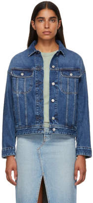 Acne Studios Blue Bla Konst Denim Lamp Jacket