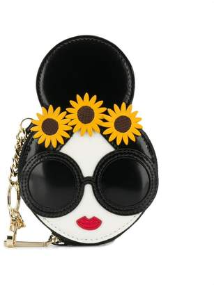Alice + Olivia Alice+Olivia Stace Face coin wallet