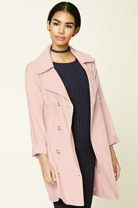 FOREVER 21+ Belted Trench Coat $34.90 thestylecure.com