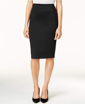 Thalia Sodi Scuba Pencil Skirt