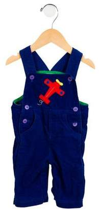 Florence Eiseman Boys' Embroidered Corduroy All-In-One