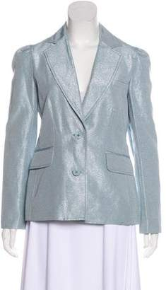 Marc Jacobs Metallic Casual Blazer