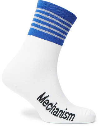 Coolmax Pas Normal Studios Mechanism Striped Cycling Socks