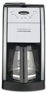 Cuisinart Grind and Brew Automatic 12-Cup Coffeemaker - DGB-550BK
