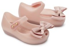 Mini Melissa Baby's & Toddler's Ultragirl Bow Mary Jane Flats $60 thestylecure.com