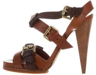 Etro Multistrap Buckle Sandals