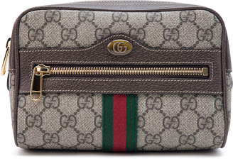 Gucci Belt Bag Ophidia Monogram GG Supreme Small Brown