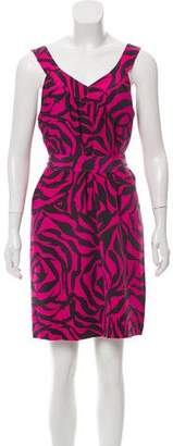 Marc by Marc Jacobs Sleeveless Silk Dress
