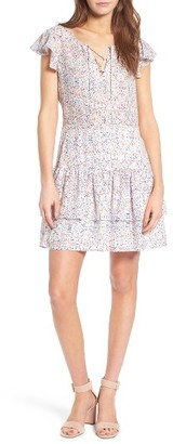 Women's Cupcakes And Cashmere Kayleen Flounce Dress $115 thestylecure.com