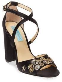 Betsey Johnson Finly Satin Pumps
