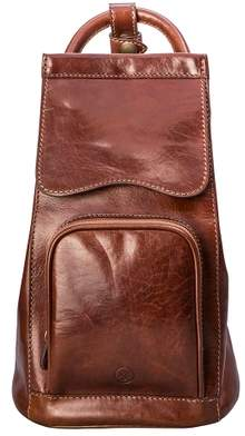 Maxwell Scott Bags Premium Quality Women S Tan Leather Shoulder Backpack