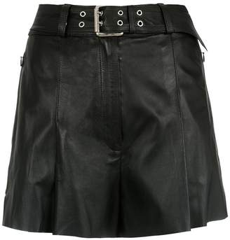 Nk leather shorts