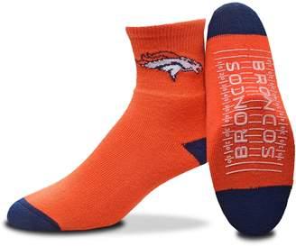 For Bare Feet Adult Denver Broncos Slipper Socks