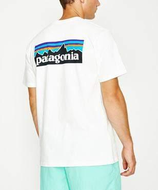 Patagonia P-6 Logo Responsible Short Sleeve T-shirt White