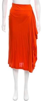 Michael Kors Silk Midi Skirt