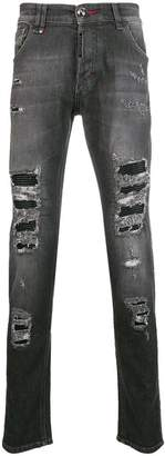 Philipp Plein Snatch skinny biker jeans