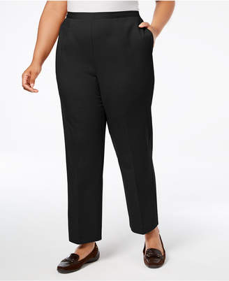 Alfred Dunner Plus Size Travel Light High-Rise Trousers, Regular and Short Inseam