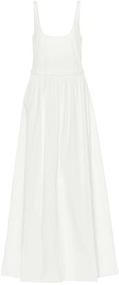 Brock Collection Oriana cotton maxi dress