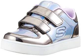 Skechers Girls' Energy Lights-LIL'METALLICS Trainers,7 (24 EU)