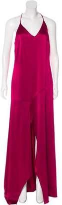 Halston Sleeveless Evening Gown