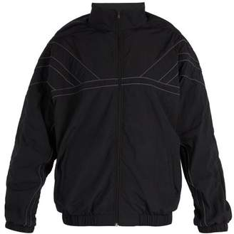 Y/Project Oversized High Neck Shell Jacket - Mens - Black