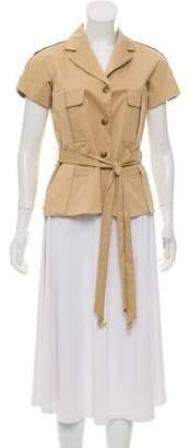 Louis Vuitton Short Sleeve Woven Jacket