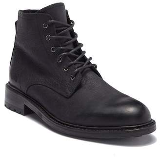 Blackstone KM 32 Genuine Shearling Lined Lace-Up Boot
