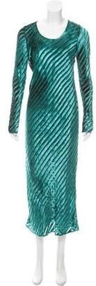 Diane von Furstenberg Velvet Devoré Dress w/ Tags