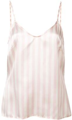 Morgan Lane Mackenzie striped pyjama top