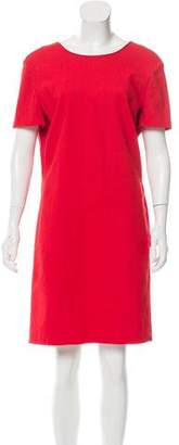 Lanvin Bow-Accented Knee-Length Dress