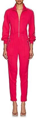 Area Women's Lamé-Trimmed Jumpsuit - Pink