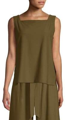 Eileen Fisher Square Neck Shell Top