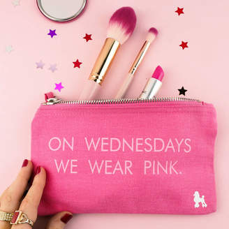 Rock On Ruby On Wednesdays Wear Pink Make Up Bag