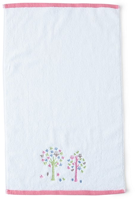 Kassatex Merry Meadow Embroidered Hand Towel