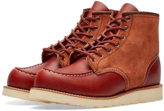 "Red Wing Shoes 8819 Heritage Work 6"" Moc Toe Boot"