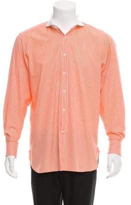 Ralph Lauren Purple Label Striped French Cuff Shirt