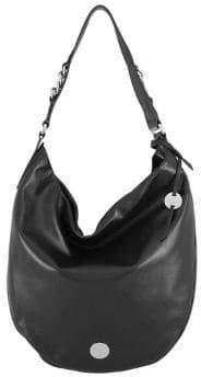 Lodis Rodeo Chain Meredith RFID Leather Hobo Bag