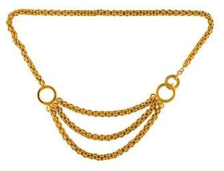 Paloma Picasso Gilt Chain Belt