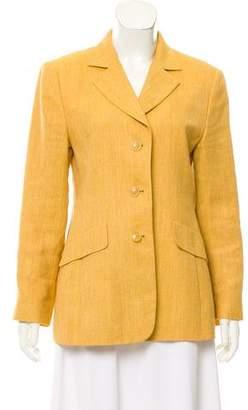 Akris Linen & Wool Blazer