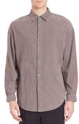 Alexander Wang Solid Long Sleeve Shirt