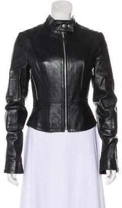 Joie Leather Biker Jacket