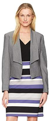 Nine West Women's Fly Away Jacket with Lapels