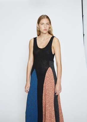 Calvin Klein Sleeveless Asymmetrical Dress
