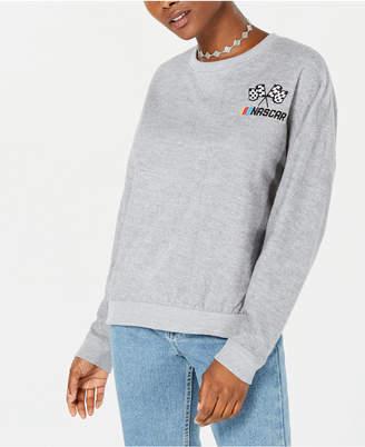 Freeze 24-7 Juniors' Cotton Embroidered NASCAR Sweatshirt