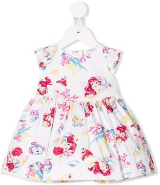 MonnaLisa Little Mermaid print dress